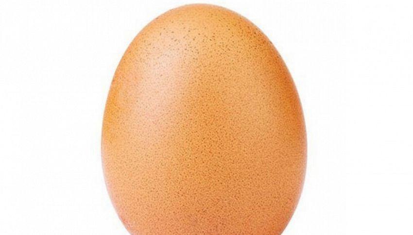 Un uovo ha battuto tutti i record di like su Instagram