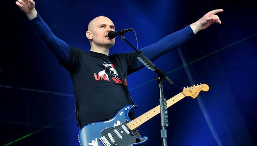 Così Billy Corgan ha ritrovato la sua chitarra rubata 27 anni fa