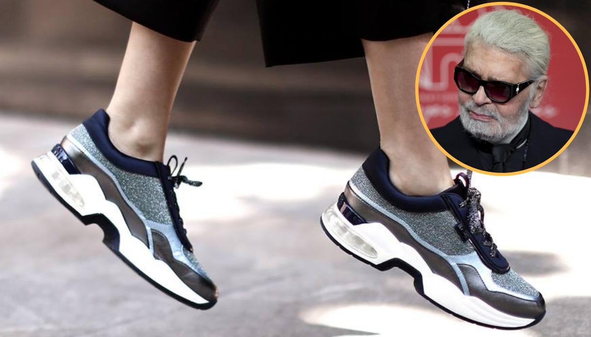 L'influenza di Karl Lagerfeld nell'universo sneaker