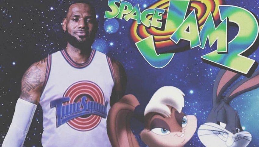 """Cosa sappiamo finora sul film """"Space Jam 2"""" con LeBron James"""