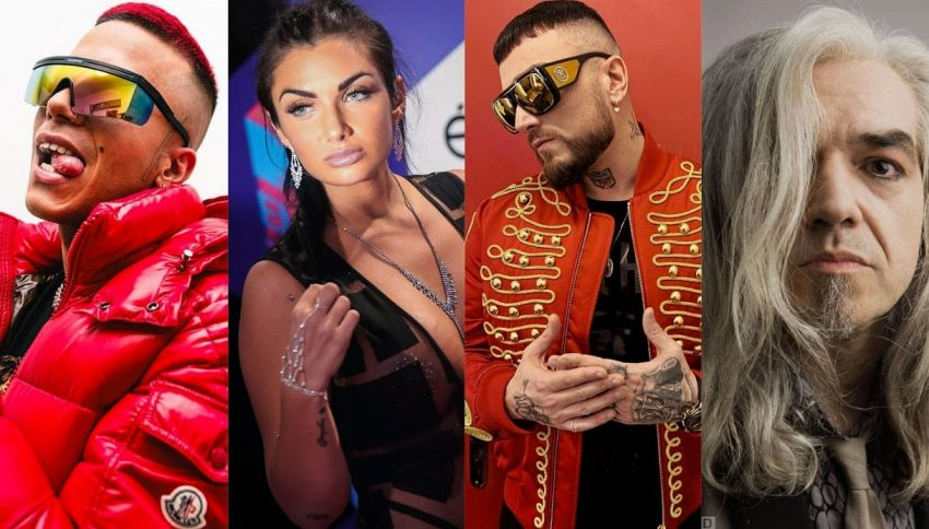 The Voice: Sfera, Guè, Elettra Lamborghini e Morgan nuovi giudici
