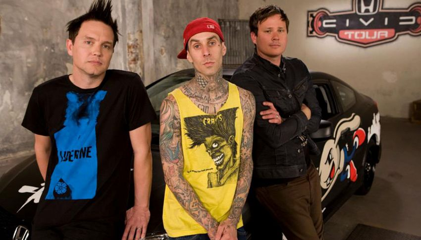 "Per i 20 anni di ""Enema of the State"" i Blink 182 lo suonano live"