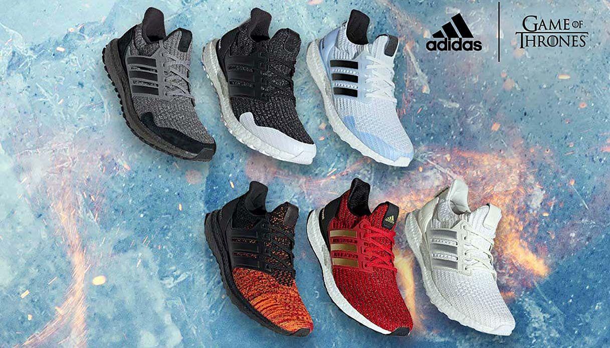 """Adidas dedica una linea di sneaker a """"Game of Thrones"""""""