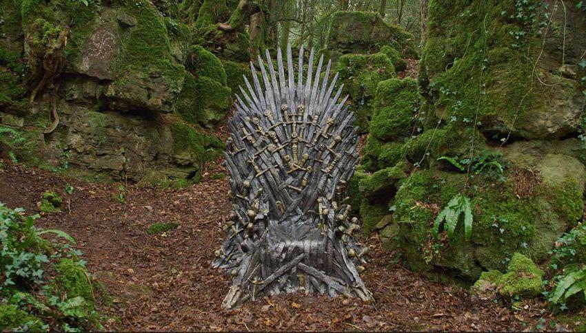 La HBO ha nascosto sei troni nel mondo in attesa di GOT 8