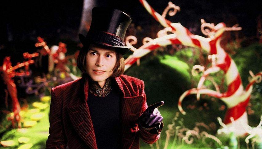 La mitica fabbrica di cioccolato di Willy Wonka ora è italiana