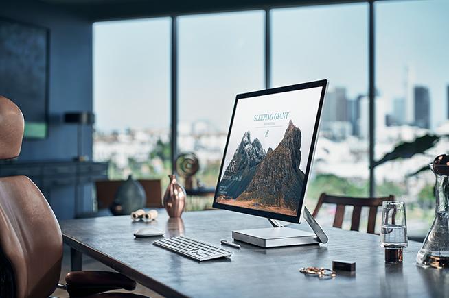 Il nuovo Surface Studio
