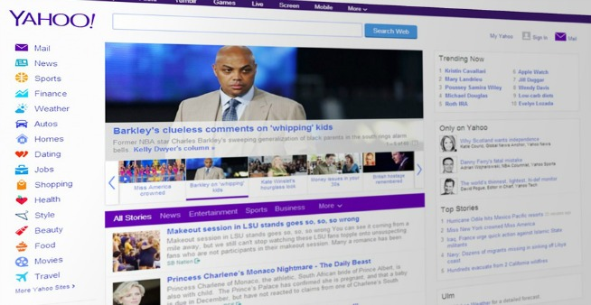 Yahoo! Mail, account spiati