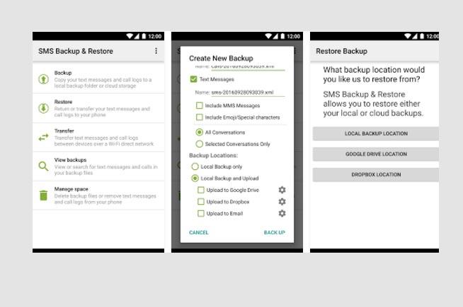 Come salvare gli SMS su Android