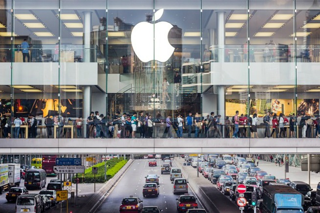 apple store foto rubate