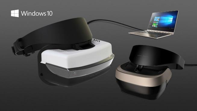 I nuovi visori VR Microsfot