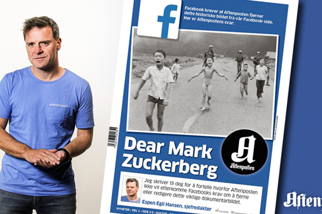 Facebook, affaire Norvegia