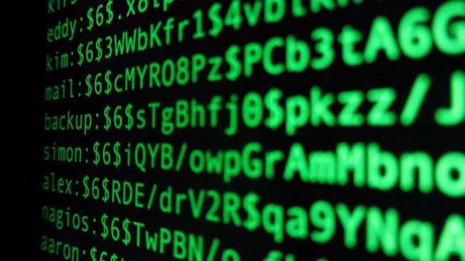 File hash password