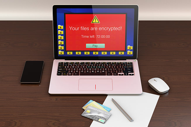 Riscatto ransomware
