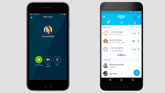 Skype per smartphone