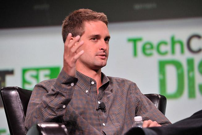 Evan Spiegel, fondatore e CEO di Snap
