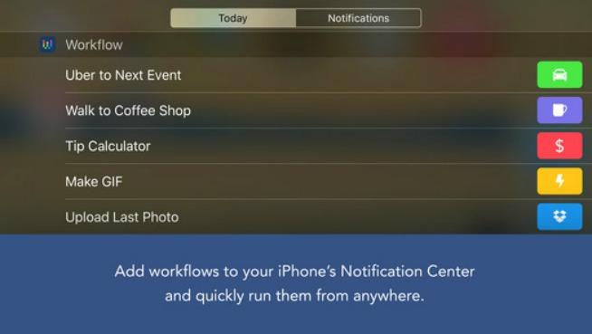 Automatizzare il proprio iPhone con Workflow