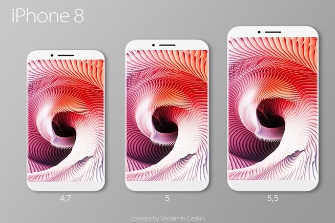Eco come sarà l'iPhone 8