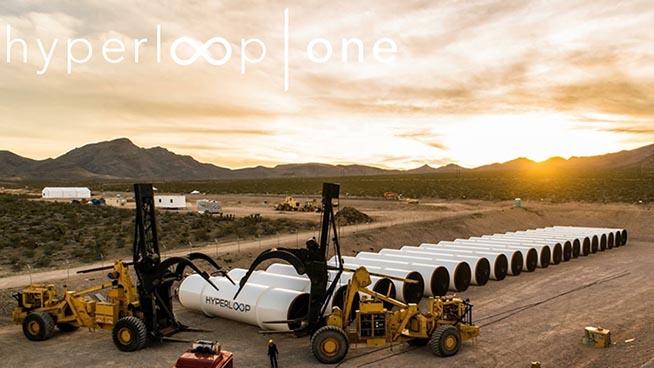 Costruzione Hyperloop One