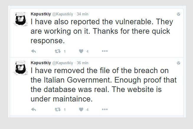 I tweet pubblicati da Kapustkiy