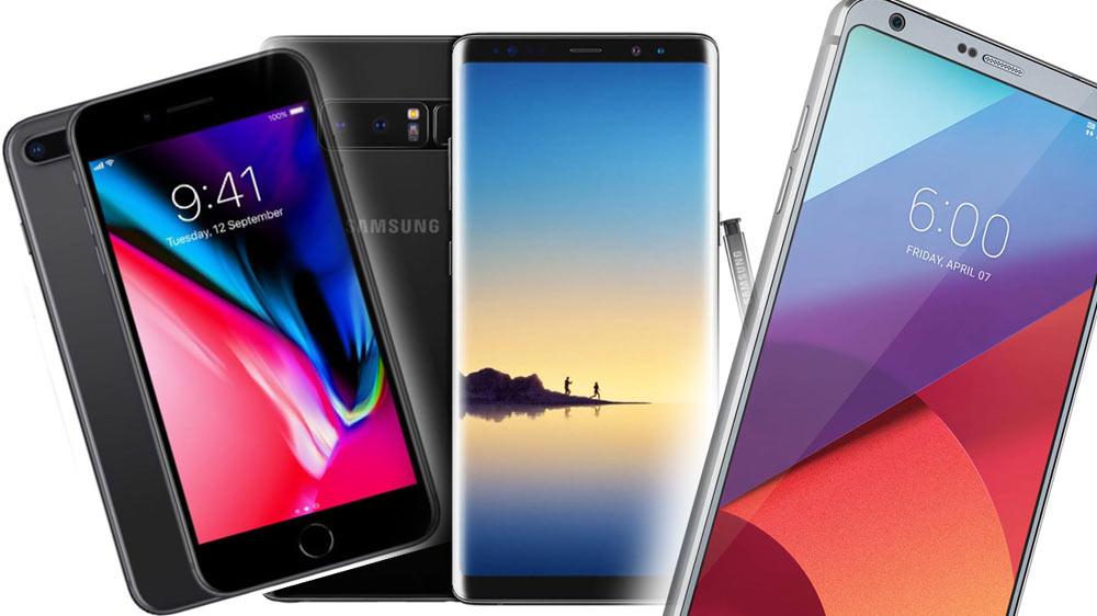I cinque migliori smartphone del 2017