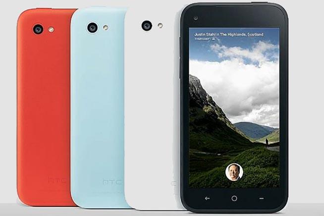 HTC First: il primo smartphone sviluppato da Facebook