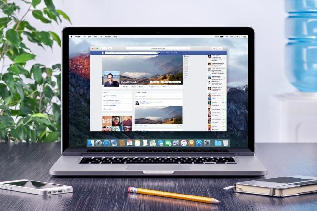 Facebook su PC