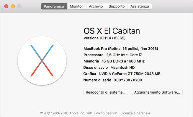 Info Mac