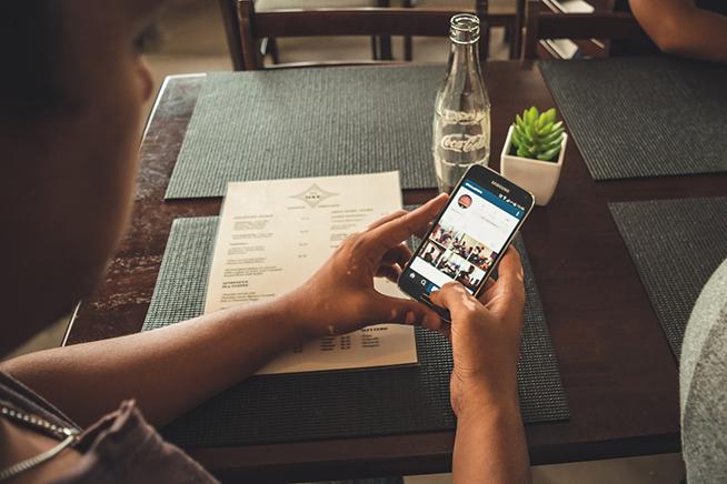Instagram su smartphone