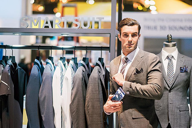 Smart suit Samsung