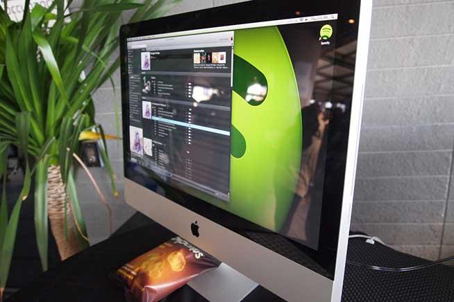 Client Spotify per Mac, una delle versioni colpite dal bug