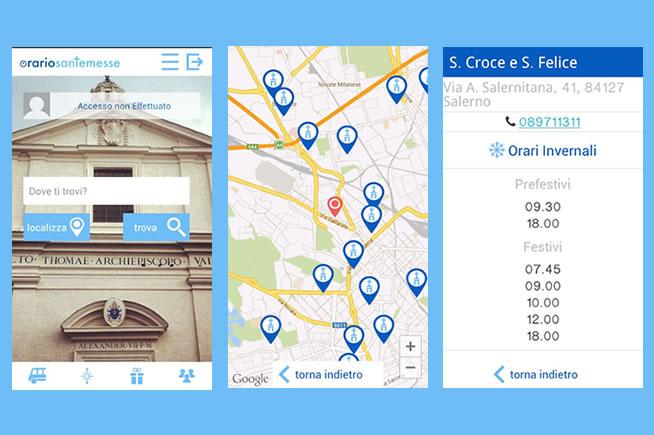 L'app per controllare l'orario della messa