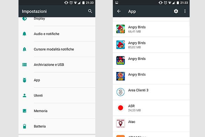 Controllare le app che si installano