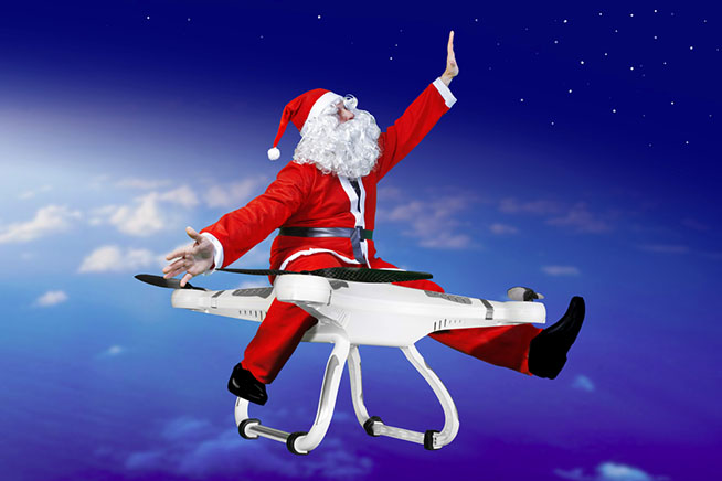 I droni sono il regalo tecnologico perfetto per il Natale 2016. Clicca sulla foto per scoprire la nostra selezione
