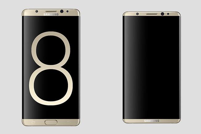 Rendering Samsung S8