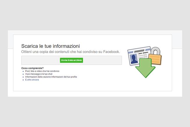 Molti utenti decidono di dire addio a Facebook perché preoccupati per la loro privacy. Clicca sull'immagine e scopri come entrare in possesso di tutti i tuoi dati.