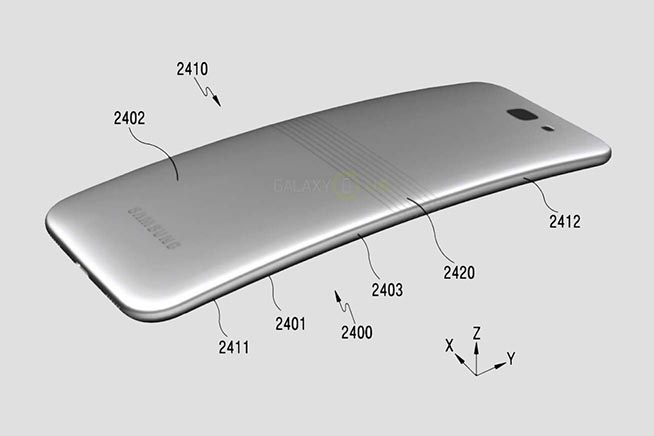 Per scoprire come sarà lo smartphone pieghevole di Samsung, premi sull'immagine