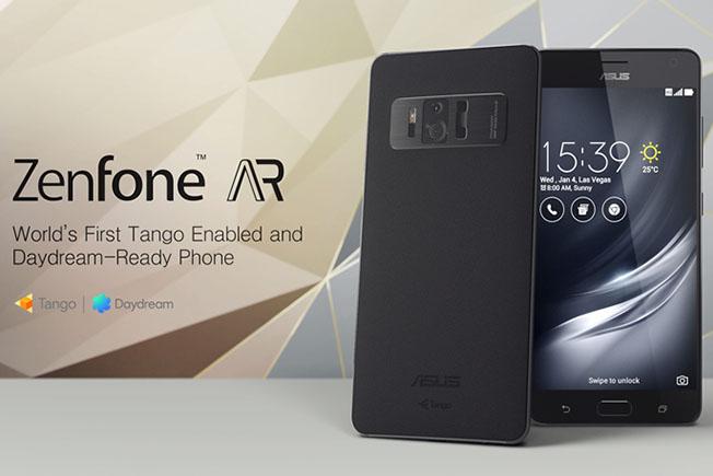 Premi sull'immagine per scoprire come è fatto l'Asus Zenfone AR, uno dei due smartphone che supportano la piattaforma Tango