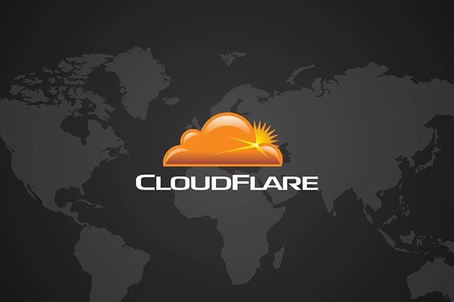 Logo di Cloudfare