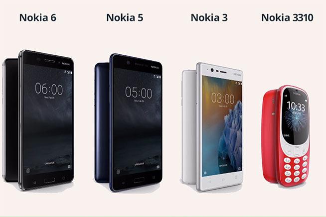 Premi sull'immagine per scoprire tutti i nuovi telefoni Nokia
