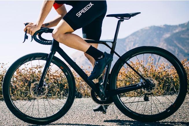 Premi sull'immagine per scoprire come funziona Speed X, la bici con Android integrato