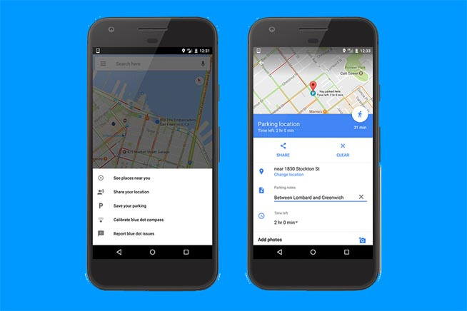 Ecco come sarà la nuova funziona di Google Maps per trovare l'auto parcheggiata