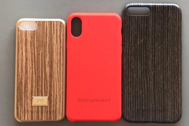 Le tre cover dei nuovi iPhone