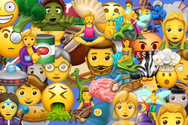 Le nuove faccine create da Unicode