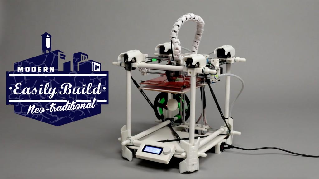 Nine 3D Print, la stampante 3D che cambia dimensioni