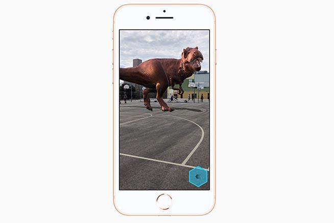 Come funziona la realtà aumentata sull'iPhone 8 e iPhone 8 Plus