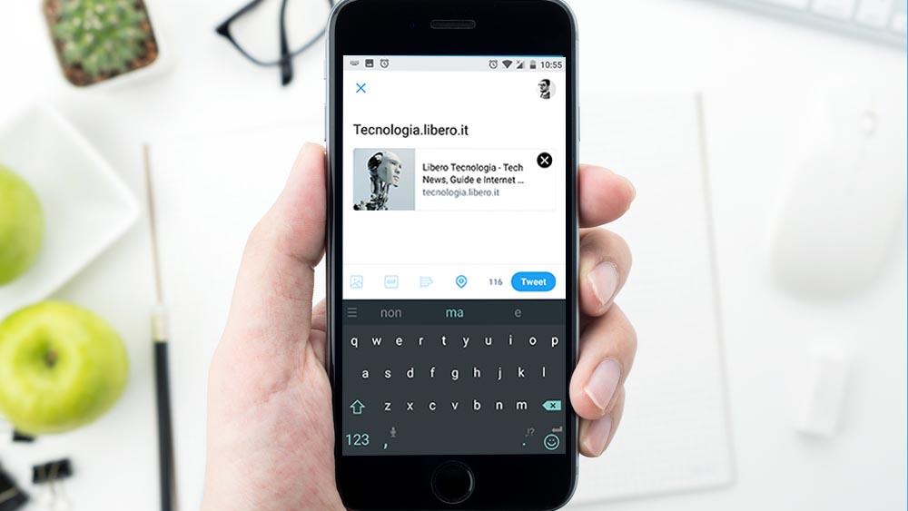 Twitter espande il limite a 280 caratteri per alcuni utenti