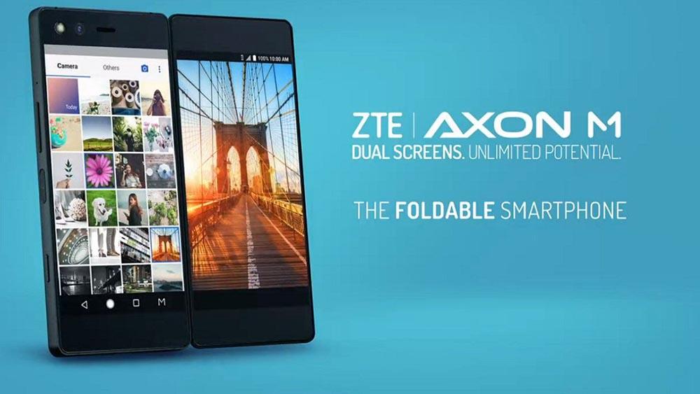 ZTE Axon M, lo smartphone pieghevole con due schermi