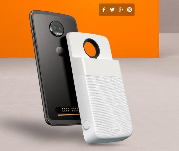 Motorola porta la Polaroid sul telefono