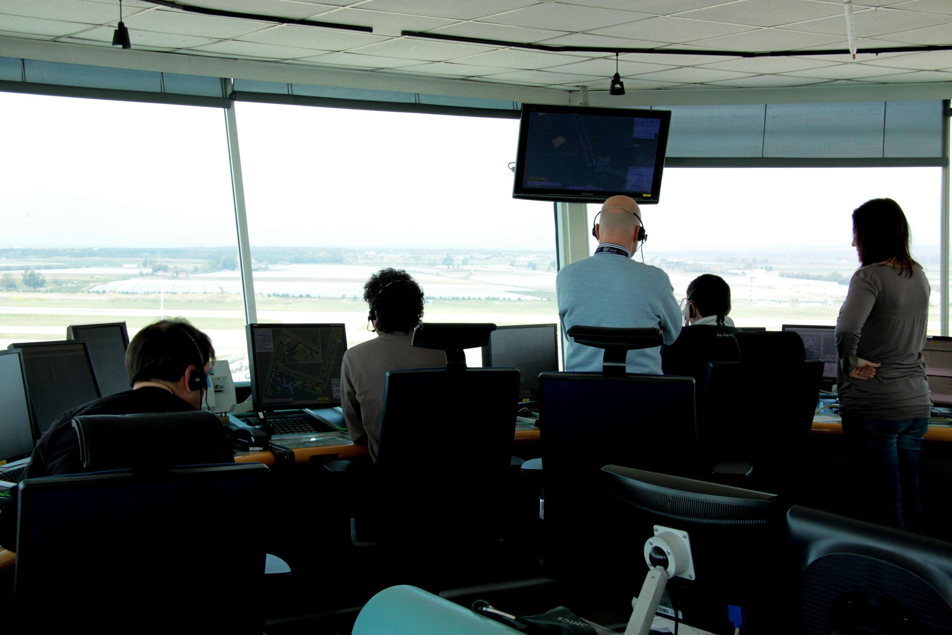 AI misura stress controllori di volo