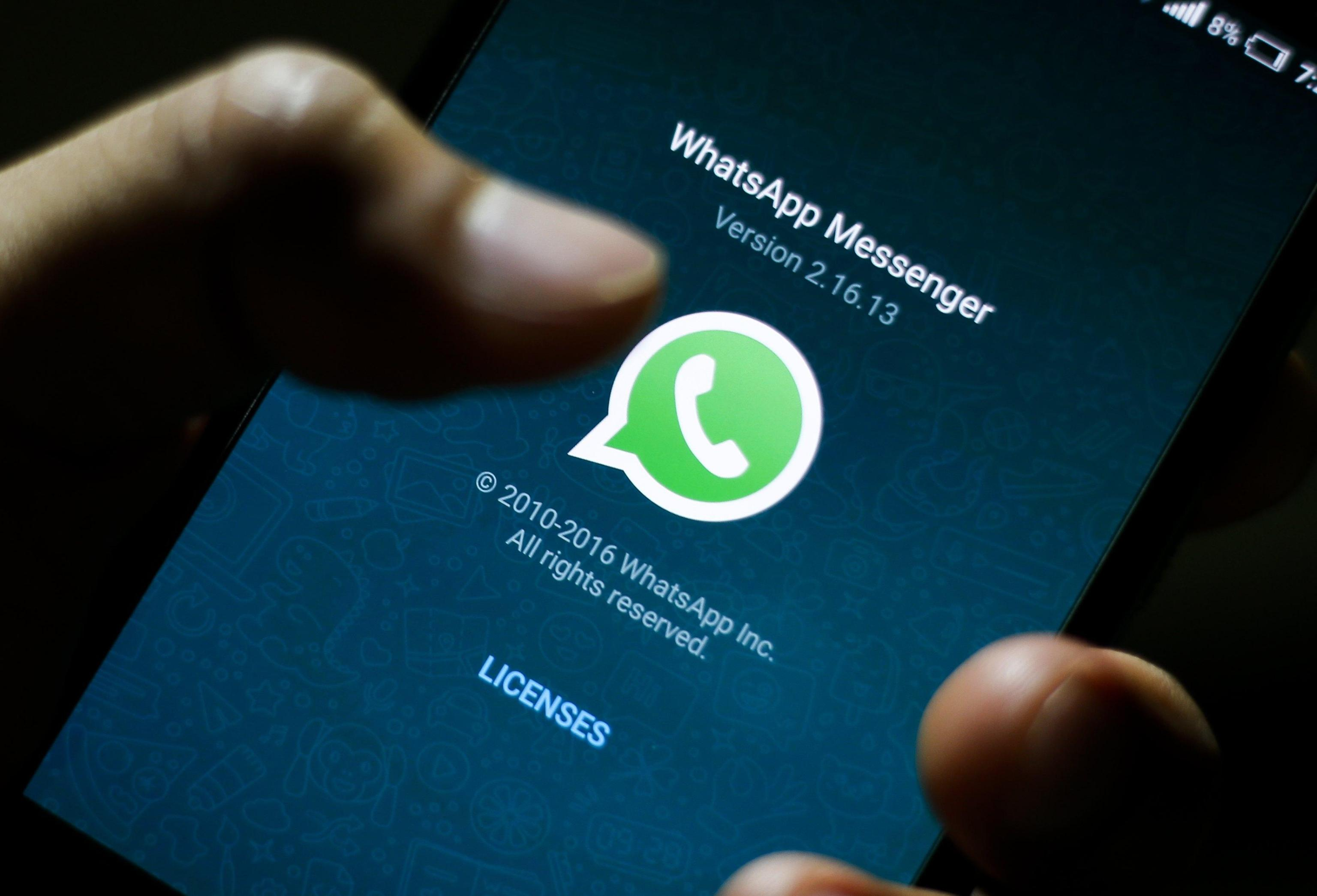 WhatsApp rifunziona dopo disservizio